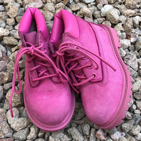 Timberland Other - Pink Timberland Boots